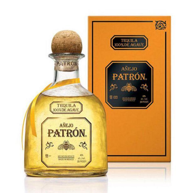 Oferta de Tequila Patrón Añejo 750 ml por $842
