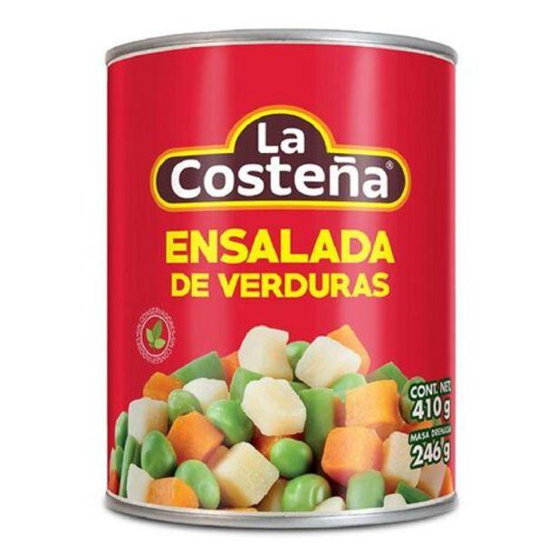 Oferta de Ensalada De Verduras La Costeña 410 Gr por $1400