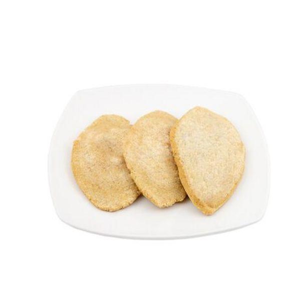 Oferta de Tlacoyos de Frijol Charola con 3 Piezas por $25