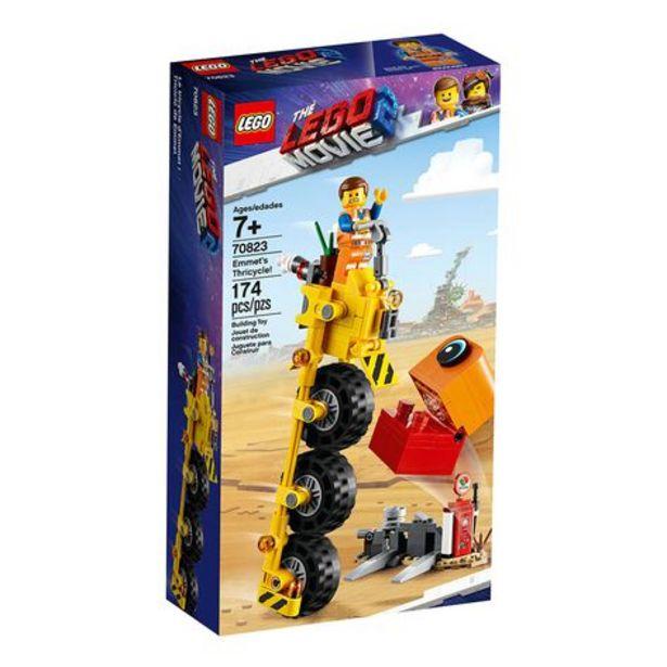 Oferta de Triciclo de Emmet Lego 70823 por $308