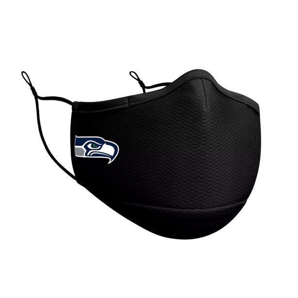 Oferta de Seattle Seahawks Cubrebocas Negro  NFL Sideline por $449