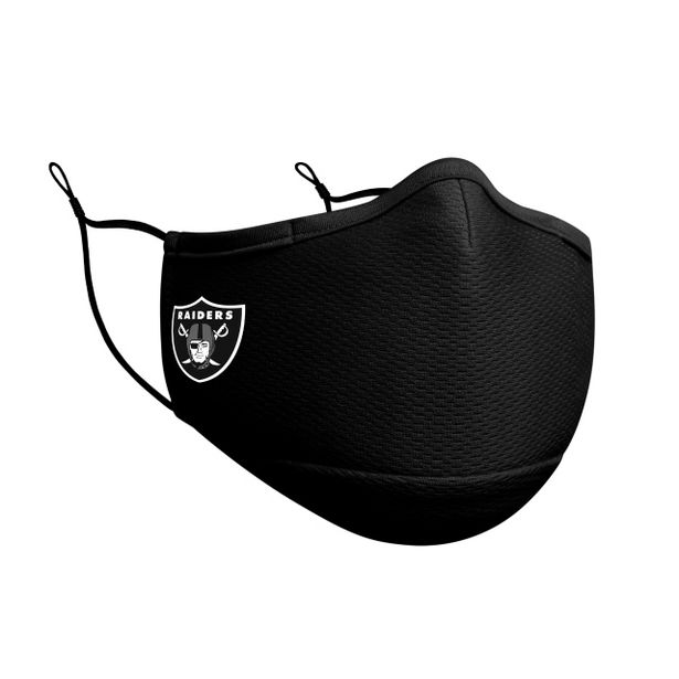Oferta de Las Vegas Raiders Cubrebocas Negro  NFL Sideline por $449