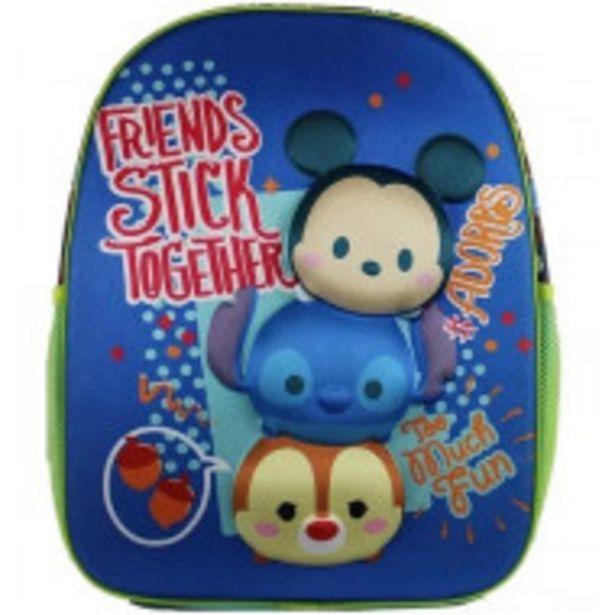 Oferta de Mochila Escolar Primaria Disney Tsum Tusm Original por $899
