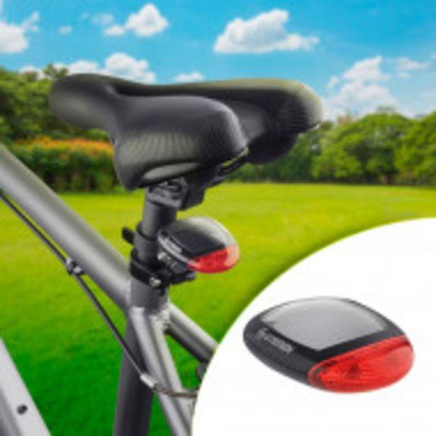 Oferta de Luz de advertencia para bicicleta, con batería recargable por $479