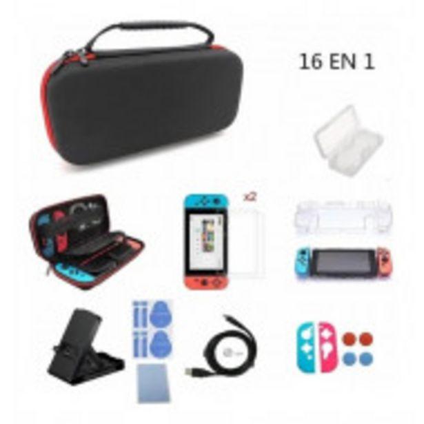Oferta de Kit De Accesorios Con Estuche Para Nintendo Switch 16 En 1 por $1399