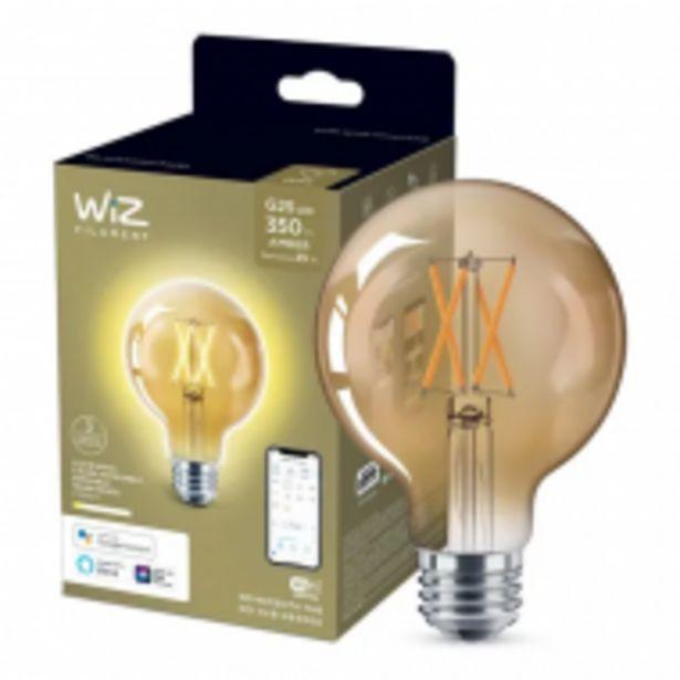 Oferta de Wiz Foco G25vintage Luz Cálida Dimeable Controlable Wifi por $789