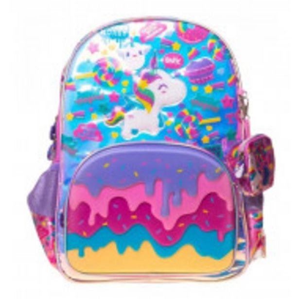 Oferta de Mochila Escolar De Magia El Unicornio por $1489