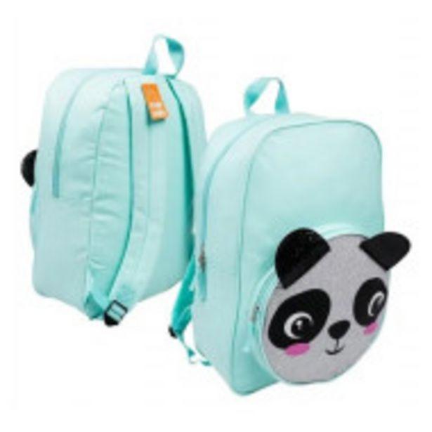 Oferta de Mochila Infantil Niñas Panda Glitter Moda Animalitos por $799