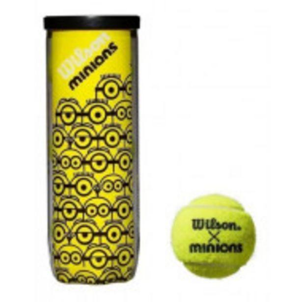 Oferta de Pelota De Tenis Minions Wilson (extra Duty) por $649