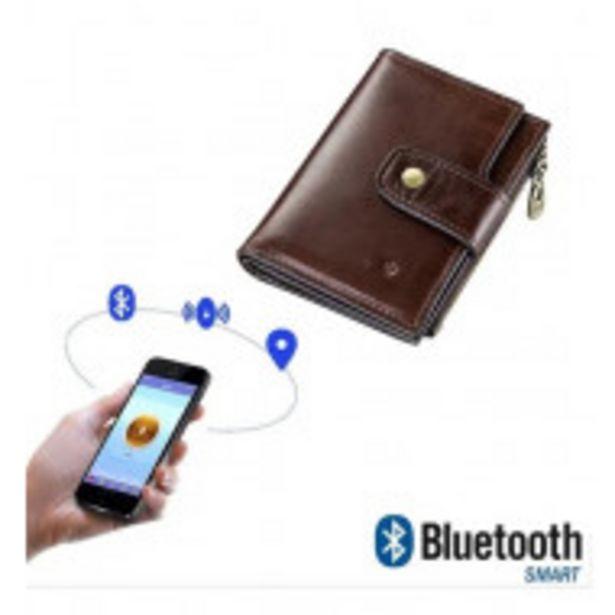 Oferta de Billetera Inteligente Piel Con Rastreador Bluetooth por $1599