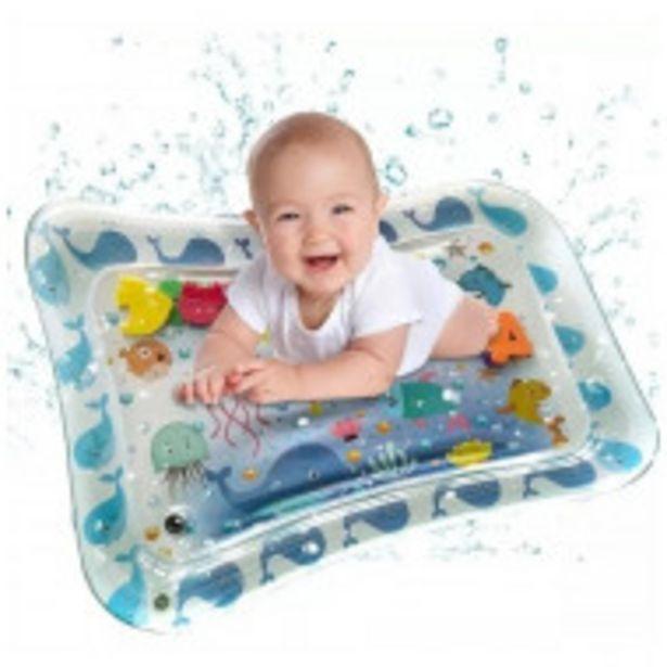 Oferta de Alfombrilla Inflable Con Diseño De Ballena Para Bebés por $1059