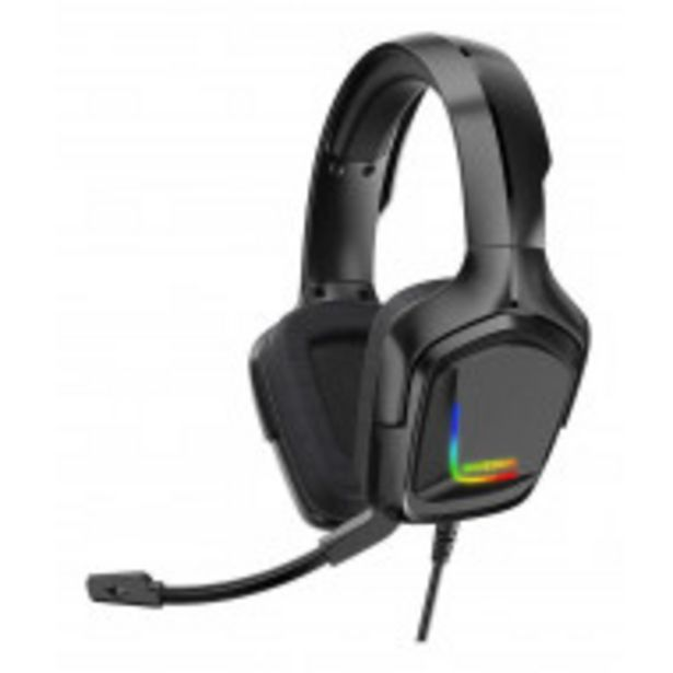 Oferta de Audífonos gamer Onikuma K20 black y rgb light por $1349