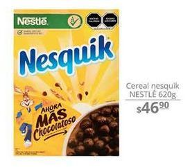 Oferta de Cereal Nesquik Nestle 620g por $46.9