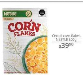 Oferta de Cereal corn flakes Nestlé 500g por $39.9