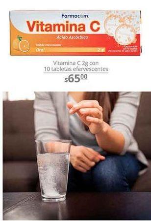 Oferta de Vitamina C 2g con 10 tabletas efervecentes  por $65