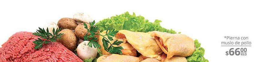 Oferta de Pierna con Muslo de pollo Kg por $66