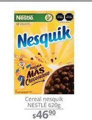 Oferta de Cereal Nesquik Nestle 620 g  por $46.9