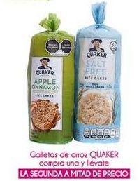 Oferta de Galletas de arroz Quaker por