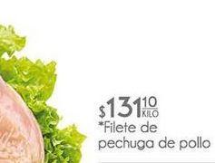 Oferta de Pechuga de pollo por $131.1