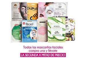 Oferta de Mascarilla hidratante facial por