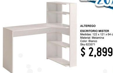 Oferta de ESCRITORIO MISTER BLANCO por $2899