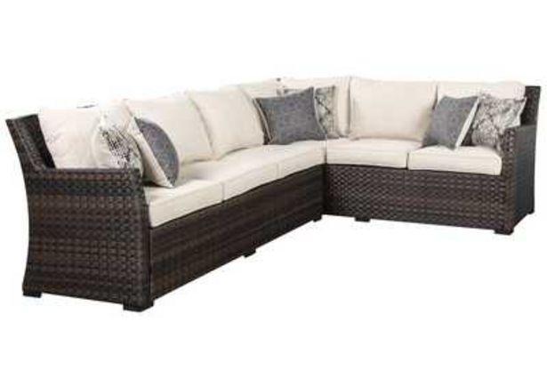 Oferta de Sofa Seccional/Silla Con Acolchado Easy Isle (Juego de 3) por $47904.35