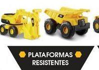 Oferta de Camión de juguete CAT plataformas resistentes por