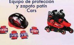 Oferta de Protecciones para patinar Y zapatos Patín Cars por