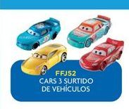 Oferta de Carrito de juguete Cars 3 vehiculos por