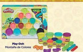Oferta de Juguetes Play-Doh Montaña de colores por