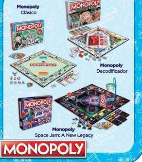 Oferta de Juegos de mesa Monopoly por