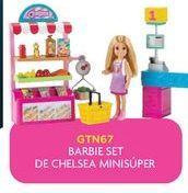 Oferta de Muñecas Barbie set chelsa minisuper por
