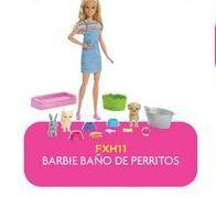 Oferta de Muñecas Barbie baño de perritos por