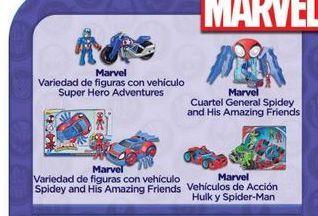 Oferta de Juguetes Marvel por