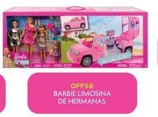 Oferta de Muñecas Barbie limosina de hermanas por