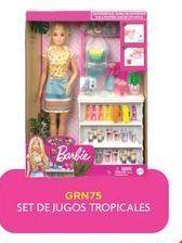 Oferta de Muñecas Barbie Set de jugos tropicales por