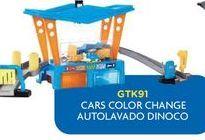 Oferta de Cars color change autolavado Dinoco por