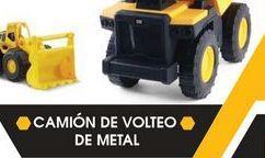 Oferta de Camión de juguete CAT camión de voteo de metal por