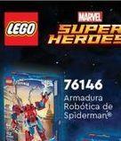 Oferta de Juguetes LEGO Armadura roboticade spiderman por