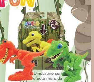 Oferta de Dinosaurios con efecto mordida Joy&Fün por