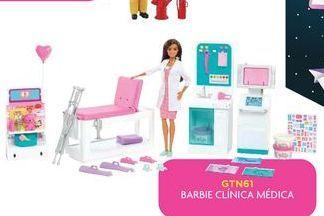 Oferta de Muñecas Barbie clinica medica por