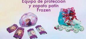 Oferta de Protecciones para patinar Y zapatos Patín Frozen por