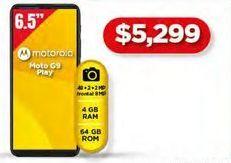 Oferta de Celulares Motorola Moto G9 Play por $5299
