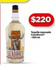 Oferta de Tequila Cazadores 950ml por $220