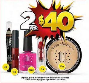 Oferta de Maquillaje x 2 por $40