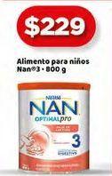 Oferta de Formula láctea NAN 800g por $229