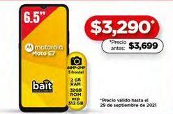 Oferta de Celulares Motorola E7 por $3290