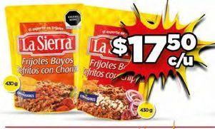 Oferta de Frijoles La Sierra por $17.5
