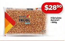 Oferta de Frijol pinto Aurrera por $28.5