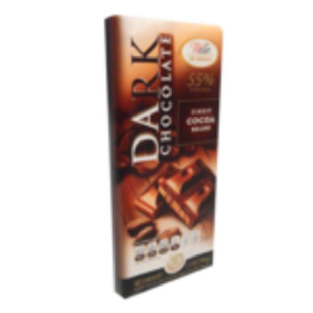 Oferta de Chocolate Negro Waller 100g por $19.99
